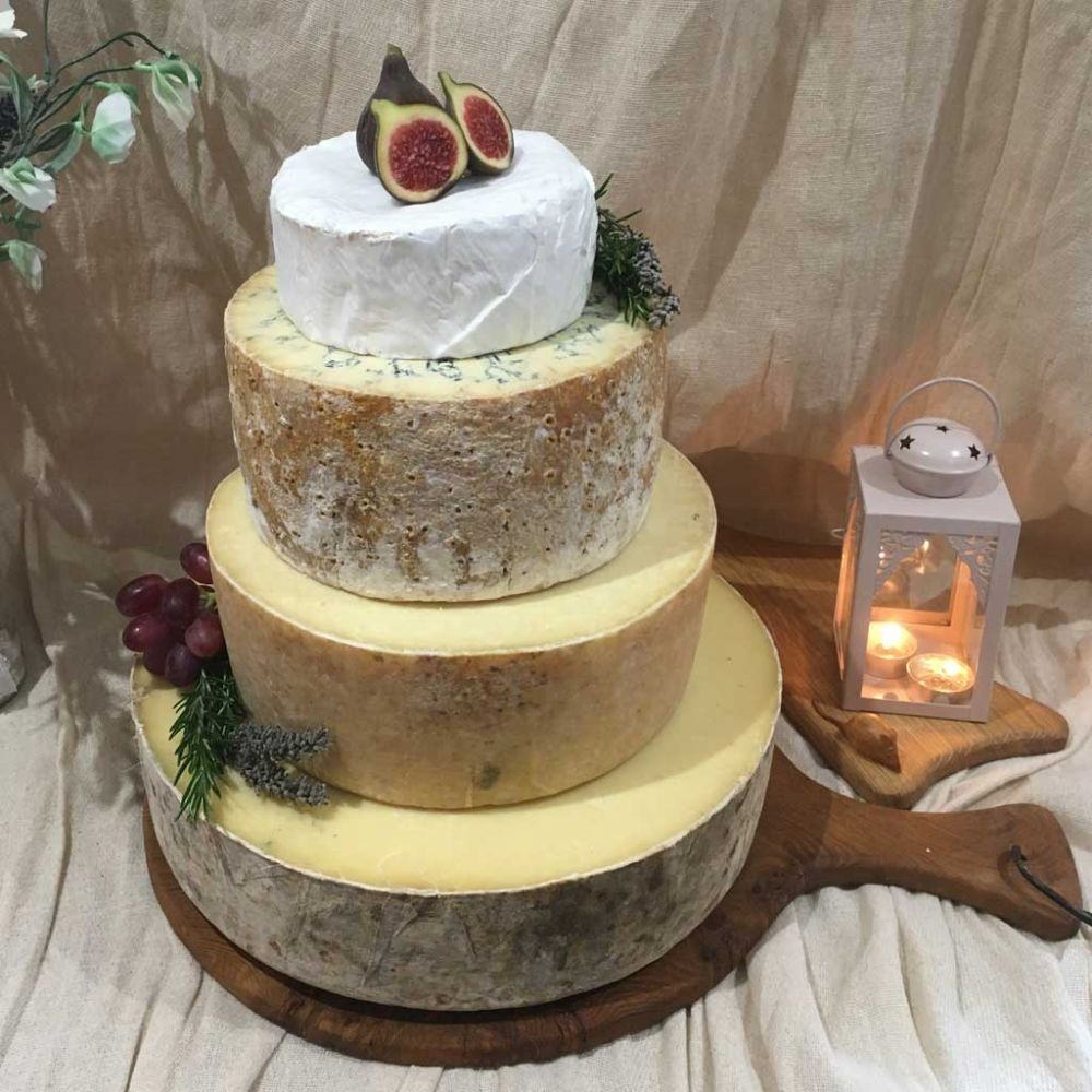 Jasmine Cheese wedding cake, 16.4kg cheese tower